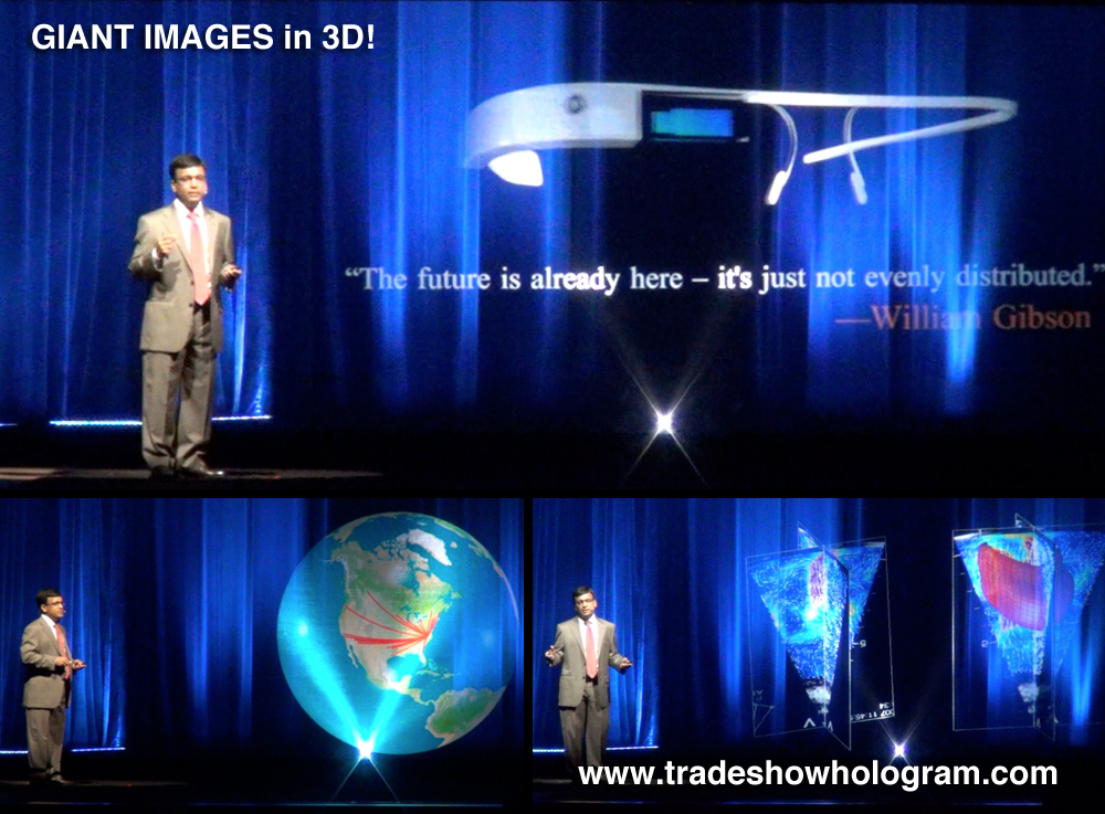 Large Hologram Projector
