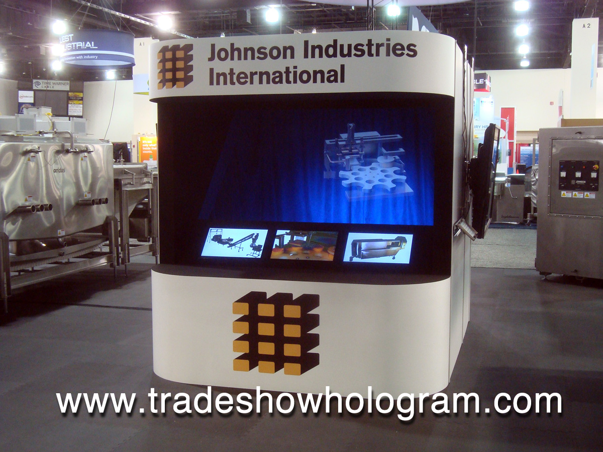 Holographic Exhibit for Trade Shows