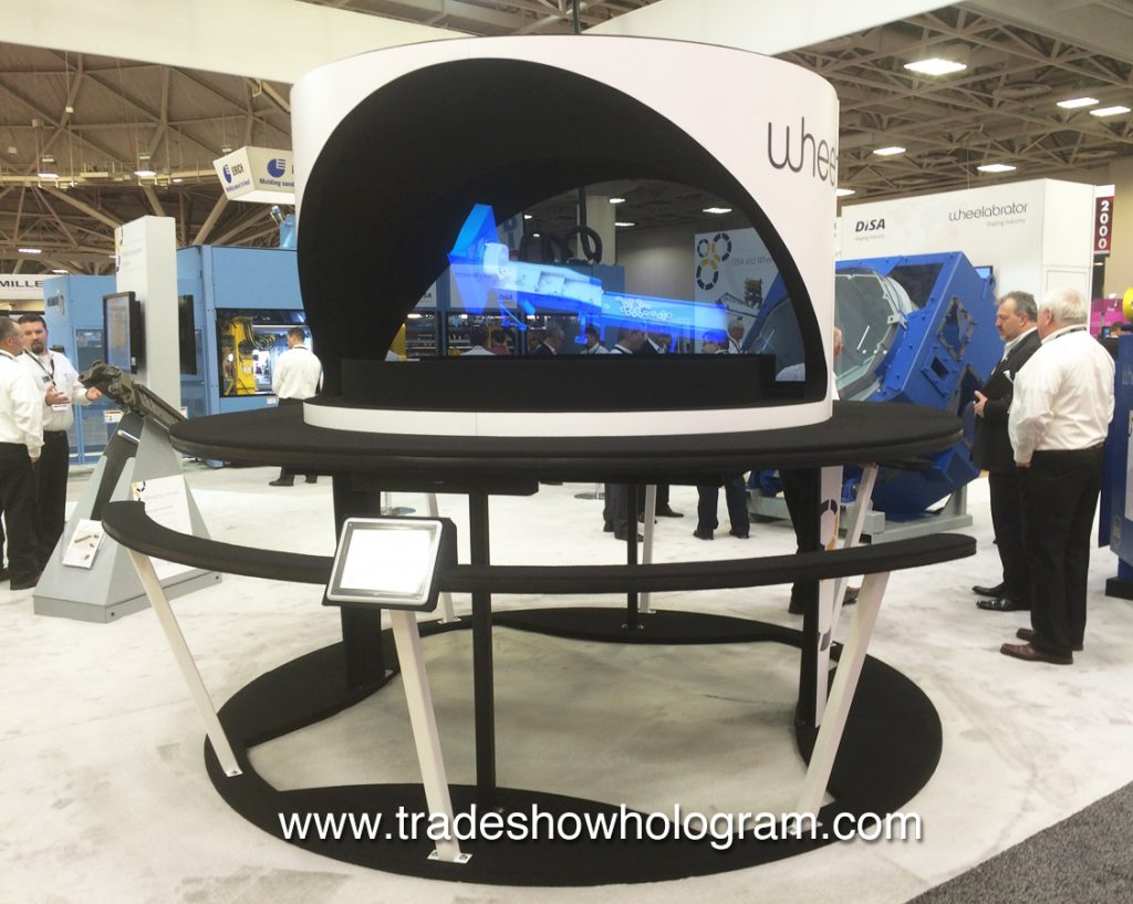 large hologram rental for trade shows