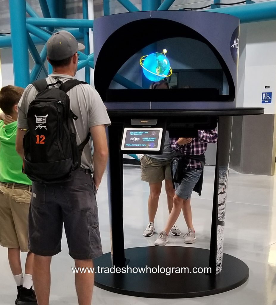 nasa hologram exhibit