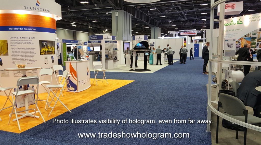 hologram rental for trade show